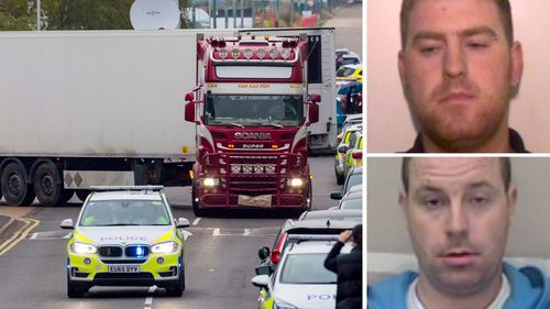 Essex lorry deaths: Police looking to speak to Armagh brothers