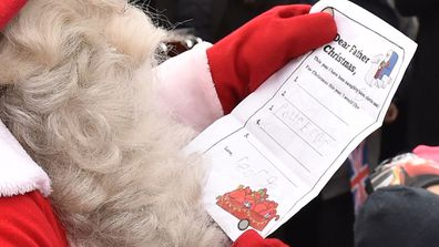 the kids can send santa their christmas lists stories and little notes aap