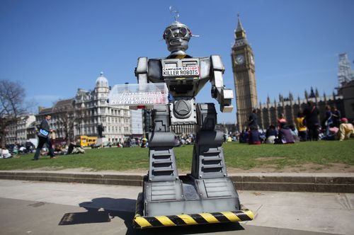 The Campaign to Stop Killer Robots is calling for a pre-emptive ban on lethal robot weapons that could attack targets without human intervention.