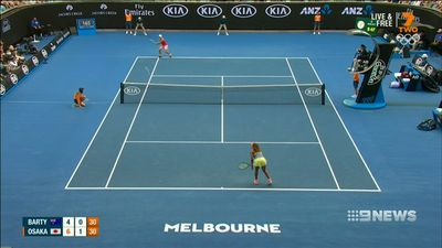 Osaka turns Australian Open Barty pooper