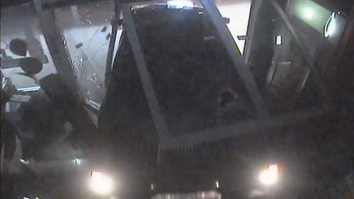 It's believed the vehicle was stolen six days prior to the ram-raid.