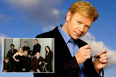 <B>Spun-off from:</B> <I>CSI: Crime Scene Investigation</I> (2000 to present), a forensic drama about, er, crime-scene investigators.<br/><br/><B>Hit or Miss?</B> Miss. Sure, <I>CSI: Miami</I> has been a ratings success — beating the numbers of its predecessor and spawning another spin-off, <I>CSI: NY</I>. But it's difficult to credit any series that features the sunglasses-tearing-off, bad-quip-making antics of David Caruso...<br/><br/><B>Factoid:</B> <I>CSI: Miami</I> has had crossover episodes with both the original <I>CSI</I> and <I>CSI: NY</I>, the only series in the franchise to do so.
