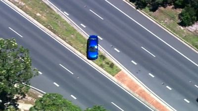 It has sped through several intersections, nearly causing a number of accidents. (9NEWS)