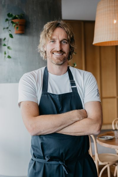 Darren Robertson, chef and co-owner of Three Blue Ducks (W Brisbane)