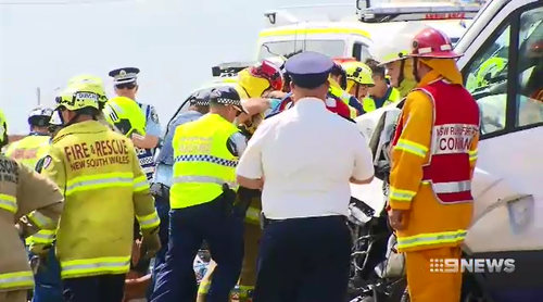 Penina Nauer was travelling on Mamre Road in Kemps Creek in 2017 when she fell asleep at the wheel and crashed into an oncoming van.