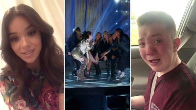 'Pitch Perfect 3' actress invites bullied boy behind video to premiere
