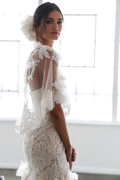 Marchesa Bridal Fall 2018.