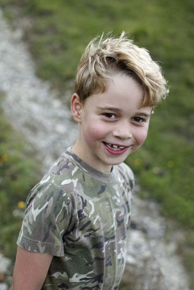 Prince George has joined the family for a spot of grouse hunting.