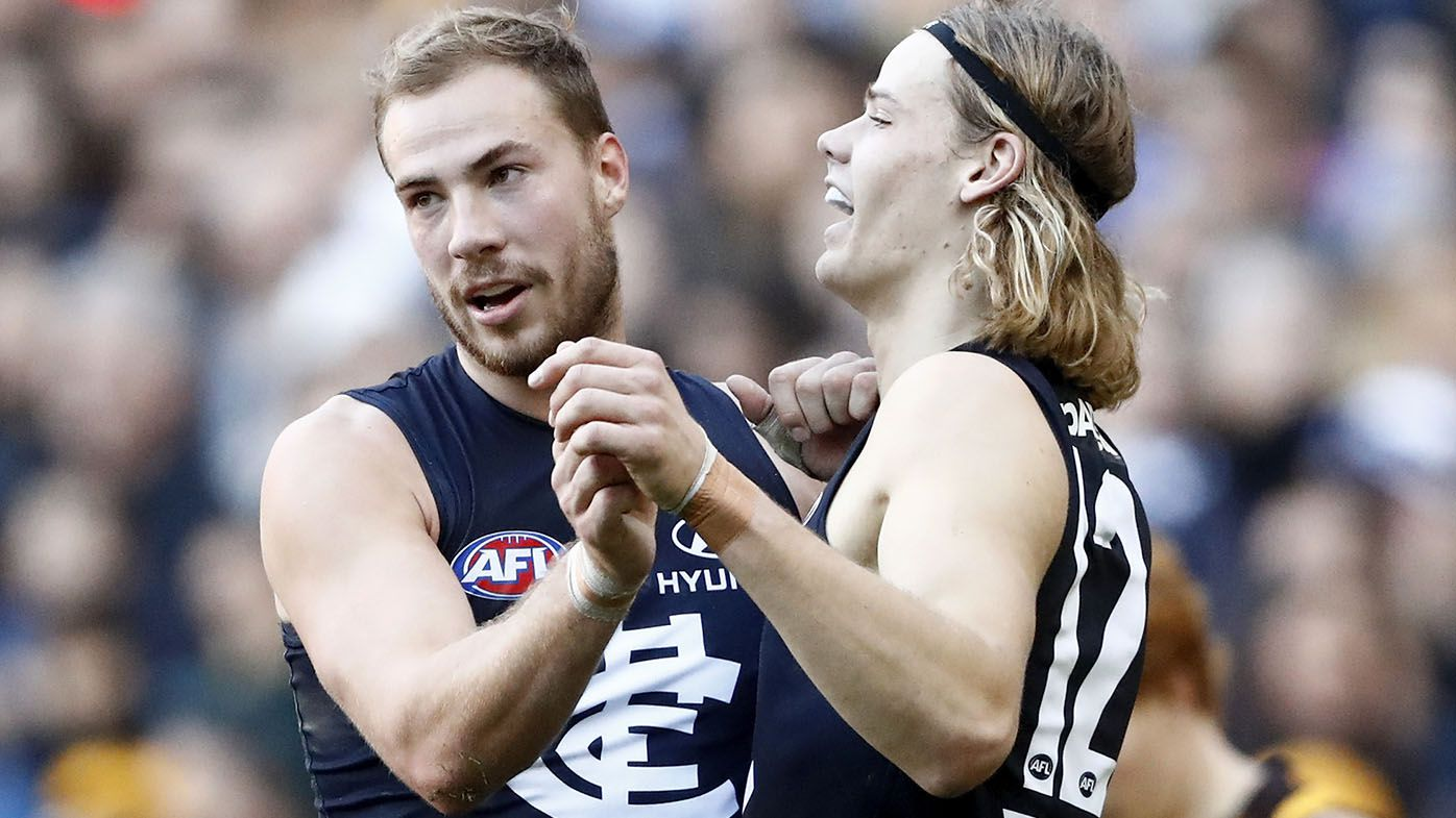 Carlton secure young gun Blues forward Harry McKay on two-year contract extension
