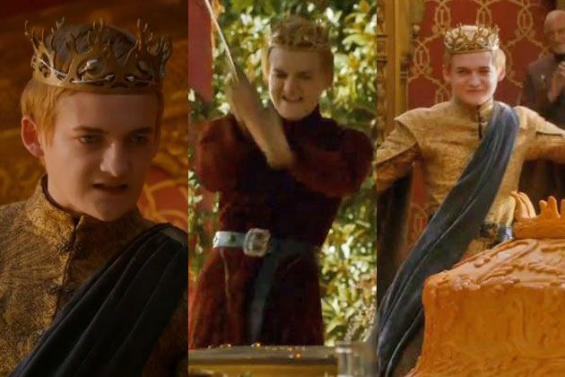 Watch First Teaser Of King Joffrey Being A Douche At Game Thrones Purple Wedding