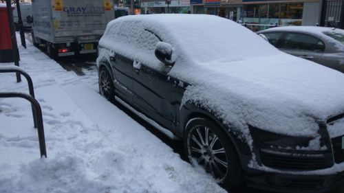 Forecasters also warn the worst is yet to come, with Storm Emma set to deliver blizzards, freezing rain and thunderstorms (AAP).