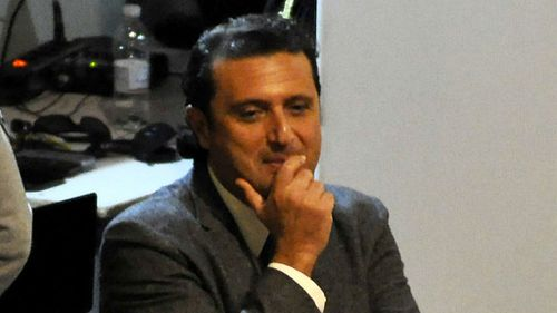 Costa Concordia captain Francesco Schettino on trial. (AAP)