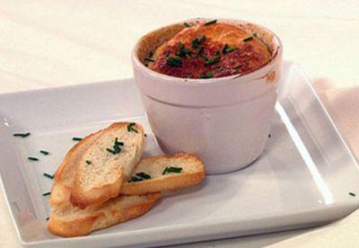 French onion soufflé