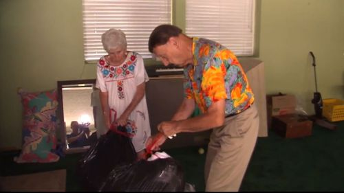 Elderly US couple evicted after being scammed by grandson