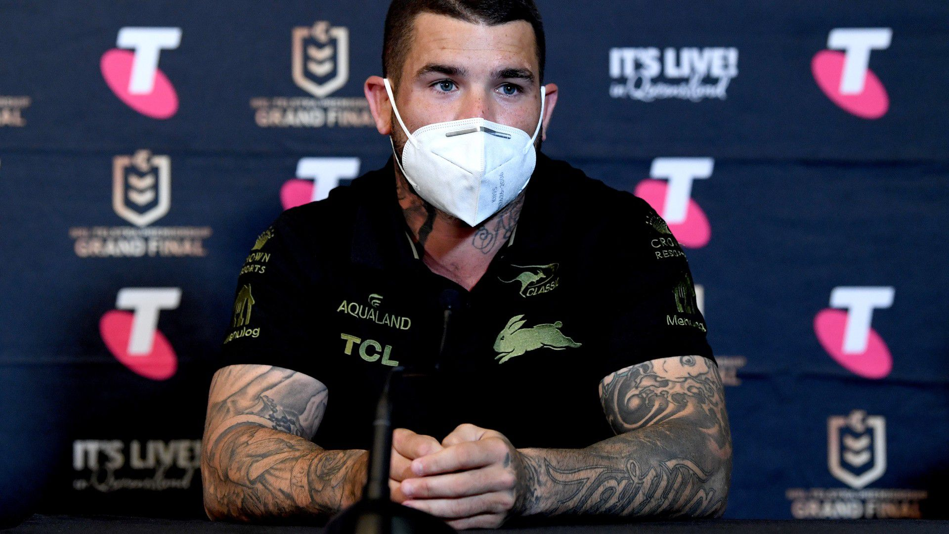 Adam Reynolds says groin 'all good' ahead of NRL grand final, expected to take goal-kicking duties