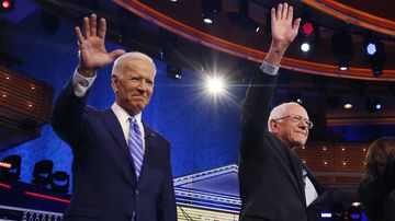 Joe Biden and Bernie Sanders would be the oldest presidents ever if elected.