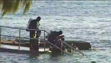 9News understands the man's body was found around 1pm Tuesday by whale watchers in the area who alerted authorities.