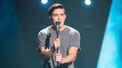 Jesse Teinaki as seen on The Voice 2020