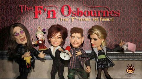 The Osbournes get animated for new cartoon series