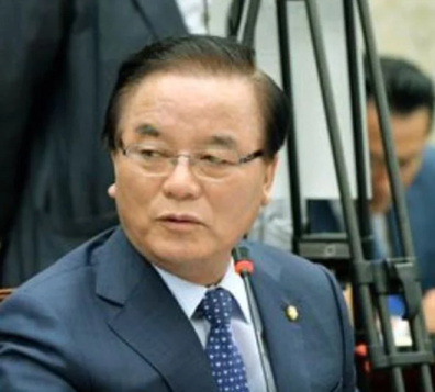 Jeong Kab-yoon is a veteran member of the conservative opposition Liberty Party Korea.