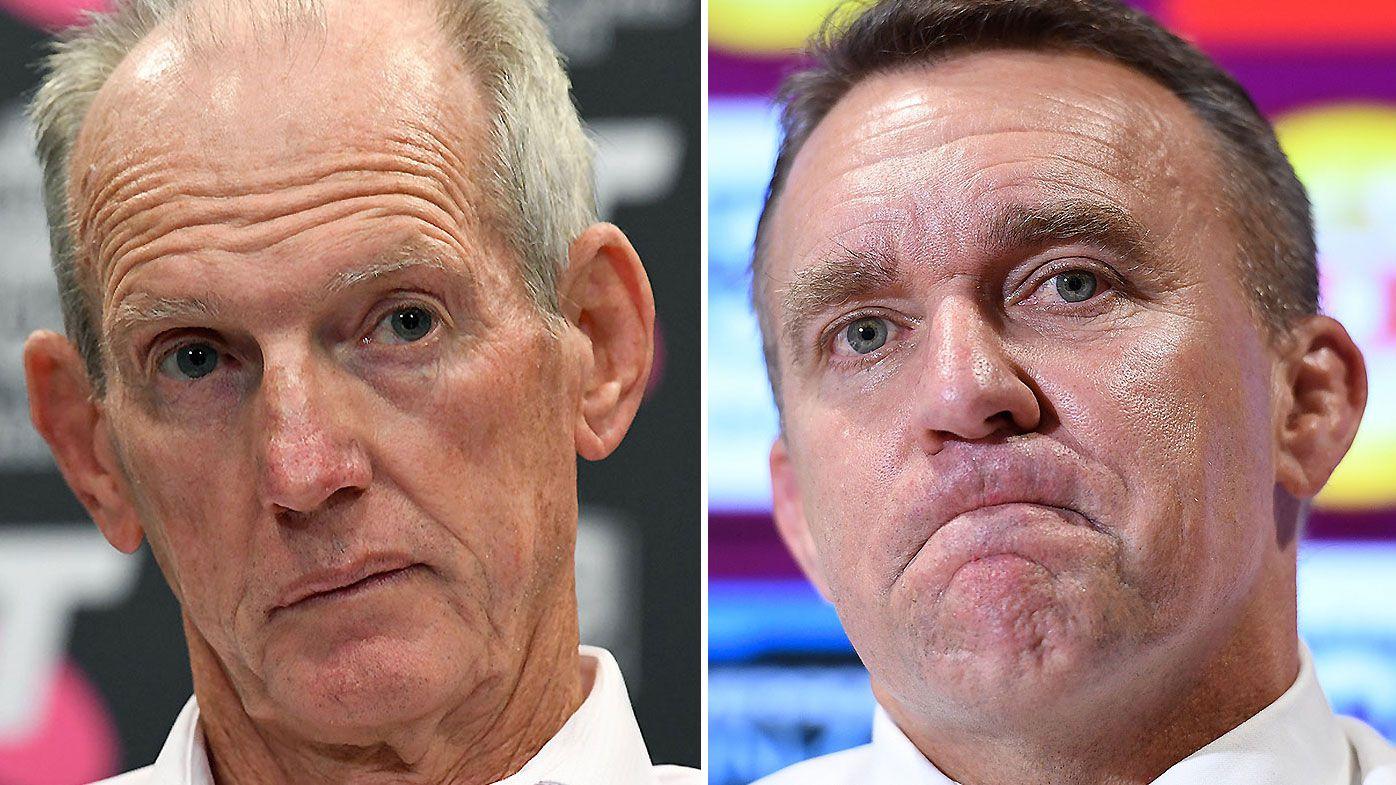 Wayne Bennett sacked by Brisbane Broncos ahead of 2019 NRL season