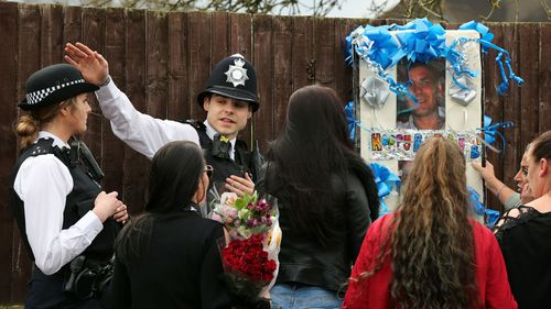 Relatives clash with police over shrine for thief killed in home invasion