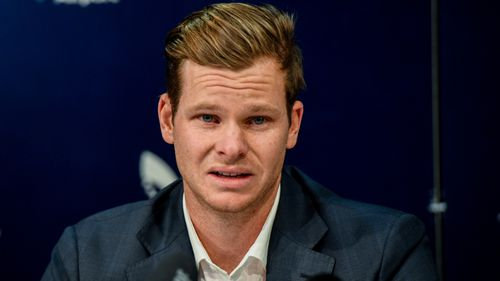 Smith's emotional press conference on his return to Sydney showed the emotional toll the saga had taken on him.