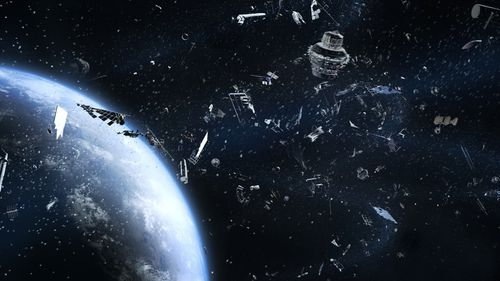 Debris from satellite poses threat to International Space Station