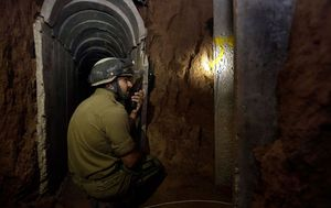 Underground terror tunnel' found by Israeli soldiers