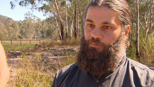 Dr Mustapha Kara-Ali is feuding with the local council over work done on his western Sydney property.