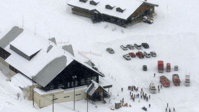 Multiple injuries after volcano erupts near Japan ski resort