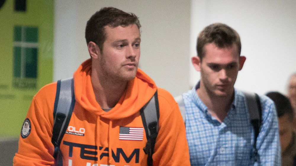 Rio Olympics: US swimmers hide on flight and from media