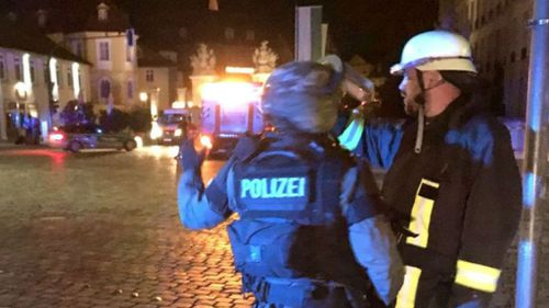 At least one person has died in an explosion in Germany. (Twitter)