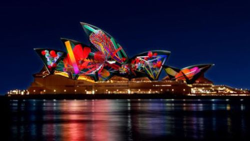 Sydney's Vivid Festival is back for another year and is set to bring millions of people to the city. Picture: Vivid Sydney.