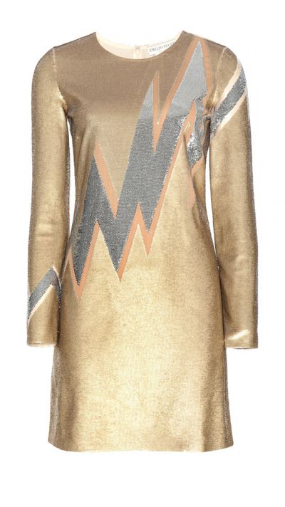 "<p><a href=""http://www.mytheresa.com/en-au/sequin-dress-466626.html"" target=""_blank"">Dress, $3925, Pucci at mytheresa.com</a></p>"