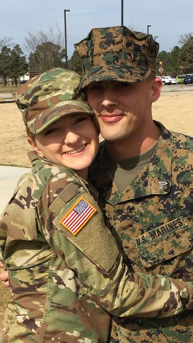 Gregory and Victoria Hudler are military veterans.
