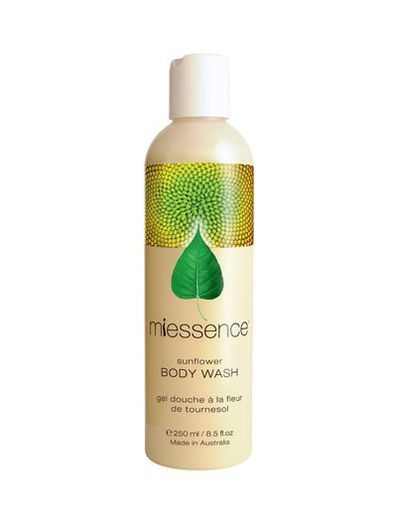 "<a href=""https://www.natureschild.com.au/organic-skin-hair/miessence-certified-organic-sunflower-body-wash.html"" target=""_blank"" draggable=""false"">Certified Organic Sunflower Body Wash By Miessence, $24.95.</a>"