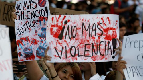 Killers of 3 Mexican students dissolved 12 victims in acid