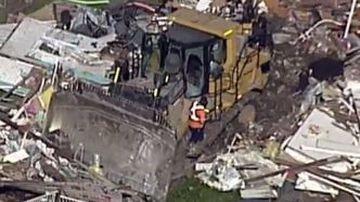 Stolen bulldozer 'used to exact extreme revenge'