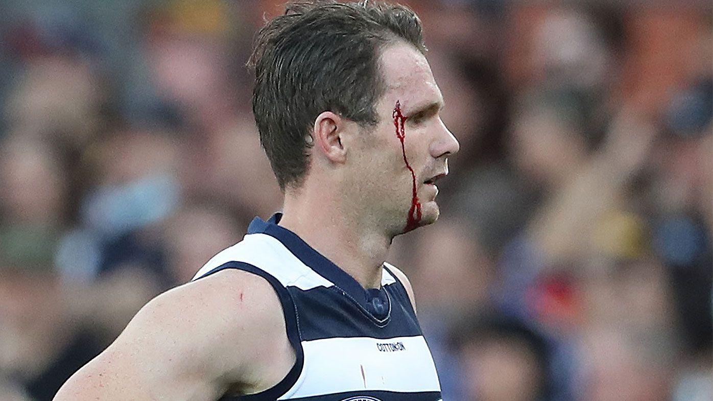 'A split moment': Patrick Dangerfield defends brutal bump on Jake Kelly ahead of Tribunal date