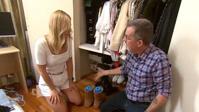 Peter Walsh shares wardrobe organisation tip