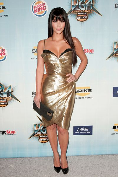 Kim Kardashian, the original, in 2008.