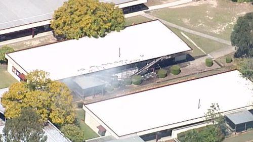 Fire breaks out in classroom at Mabel Park State School in Slacks Creek