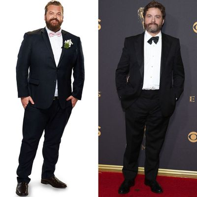 Luke and Zach Galifinakis