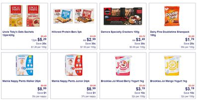 Aldi kicks off this week with some great choices for school and work snacks.