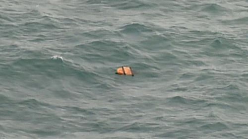 Debris found by searchers in the hunt for the missing AirAsia flight. (AFP)