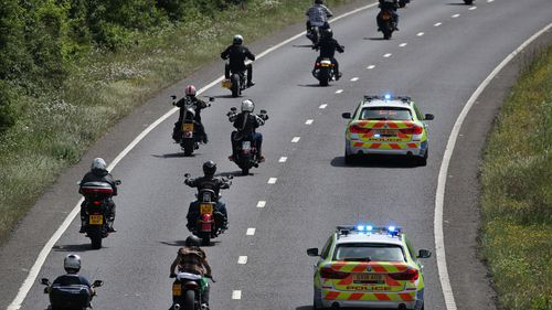 UK police arrest 34 at Hells Angels 50th anniversary event