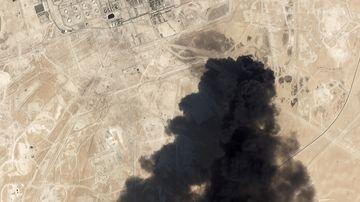 Iran denies involvement in drone attacks on world's biggest oil facility