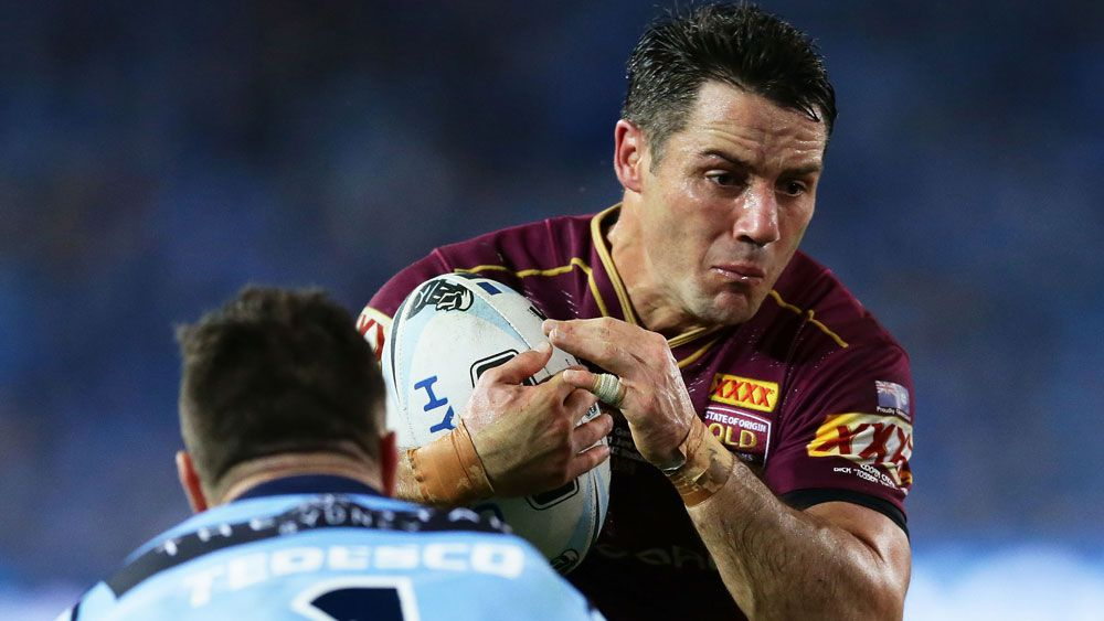 State of Origin teams: Queensland Maroons and NSW Blues sides for Game 3