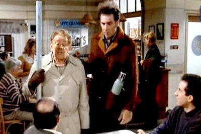 "In the season nine episode 'The Strike', George (Jason Alexander) is horrified when his father Frank (Jerry Stiller) resurrects a seasonal tradition known as Festivus, the December holiday ""for the rest of us"". Festivus customs include a decoration-free aluminium pole, replacing the usual tree; the ""airing of grievances"", where family members share the ways they've disappointed each other in the last year; and the ""feats of strength"", which always seem to end with at least one family member in tears..."
